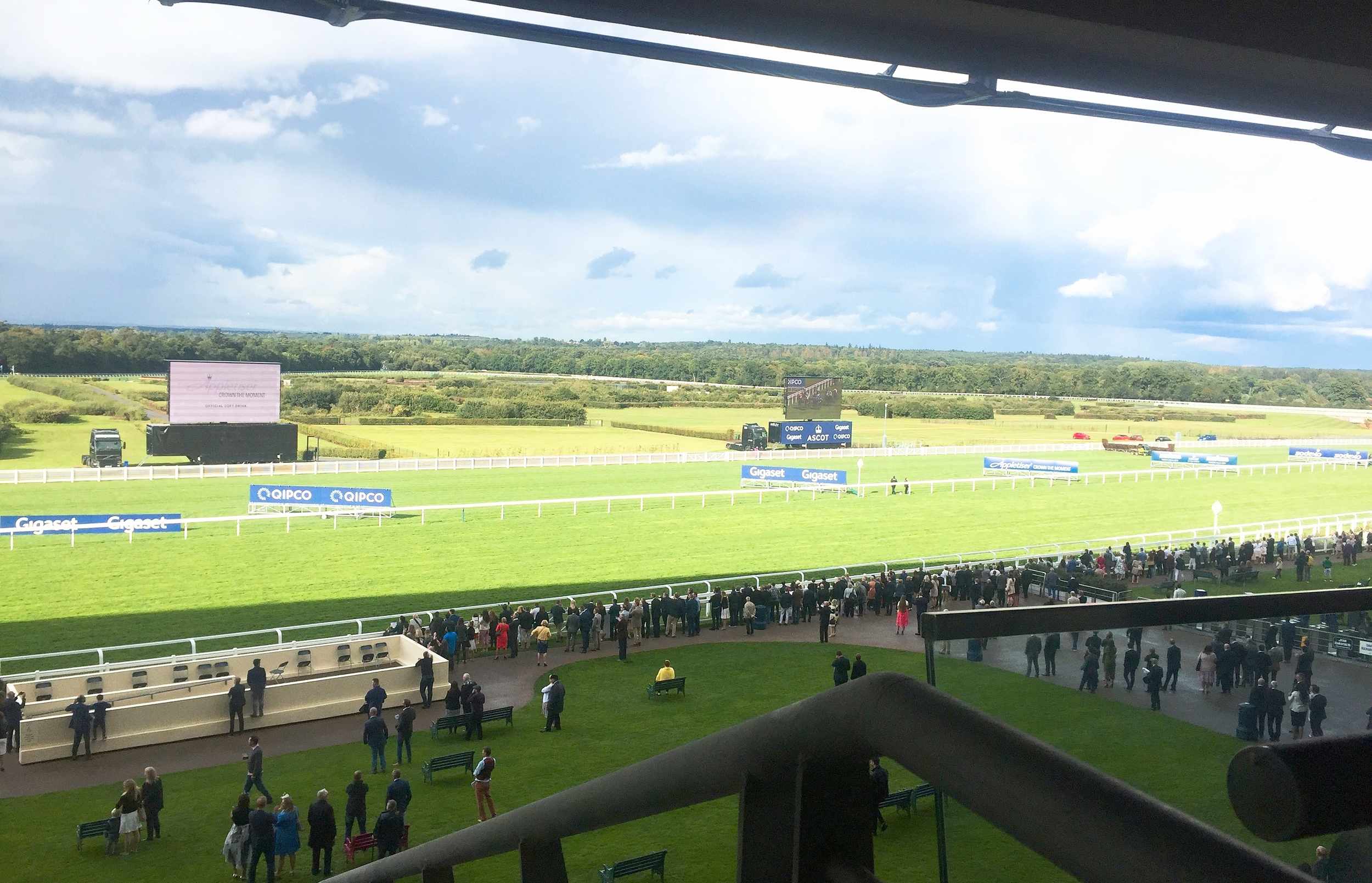 Ascot festival of food and wine royal box