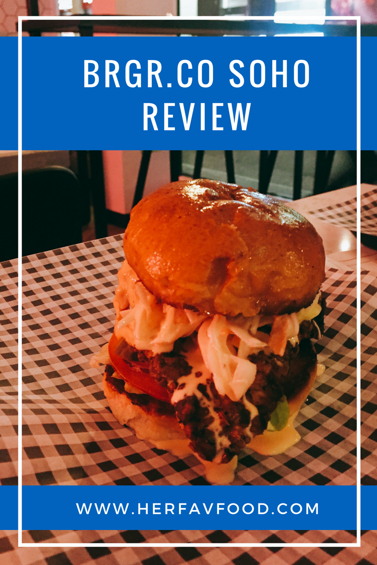 BRGR.CO Review Soho HerFavFood
