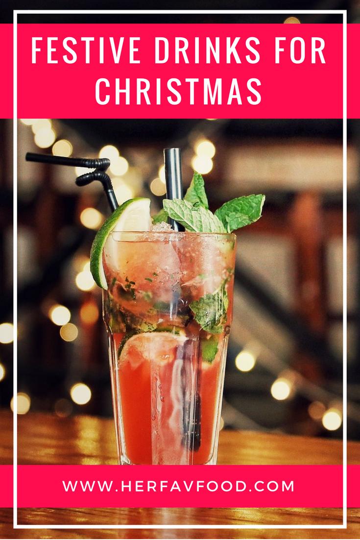 Christmas drinks ideas