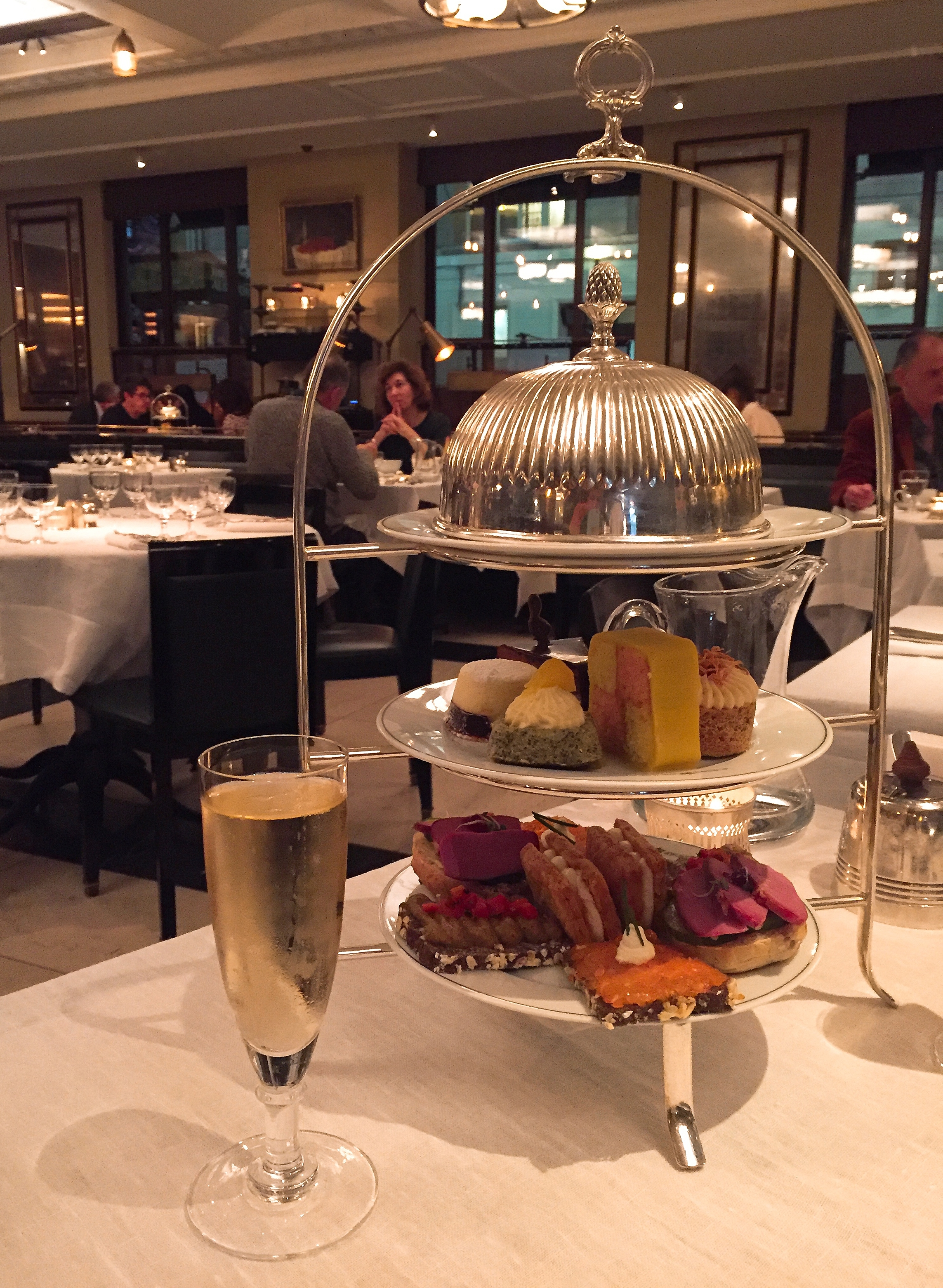 Afternoon Tea at The Delaunay,
