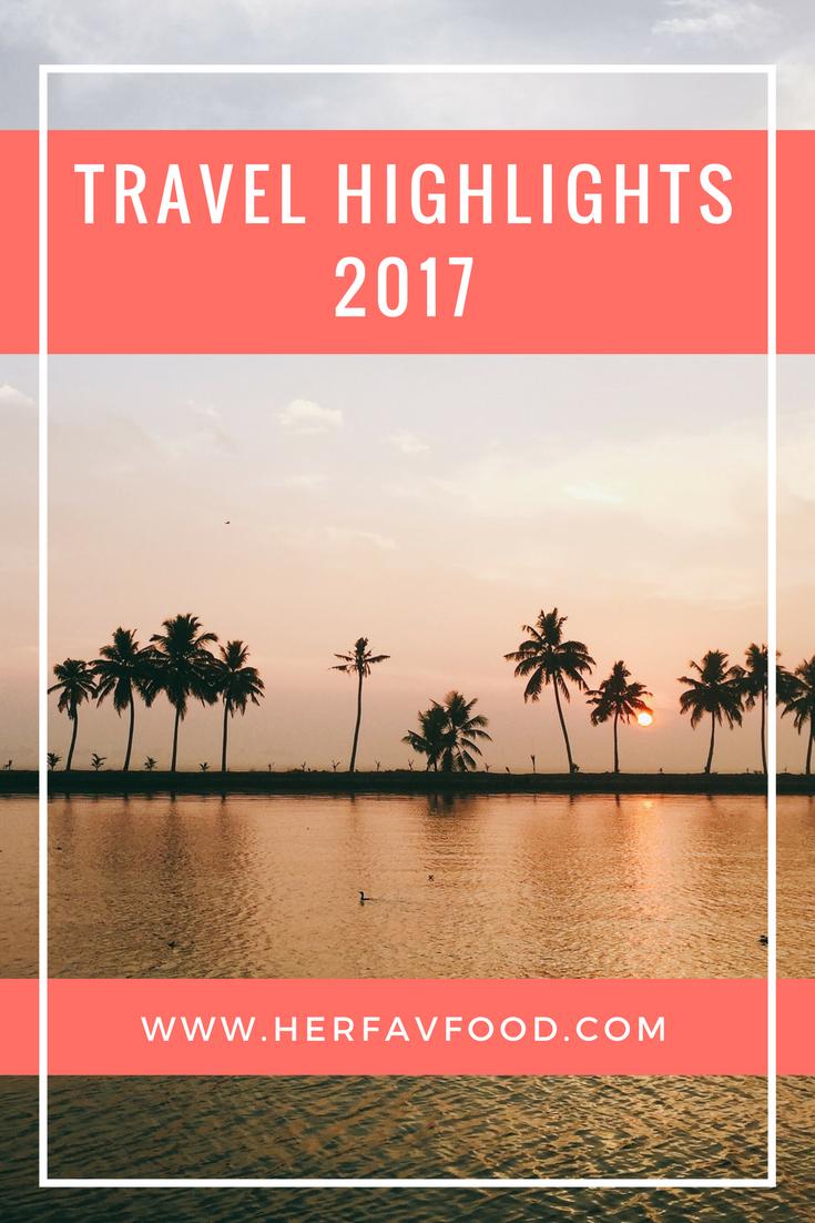 Travel highlights 2017