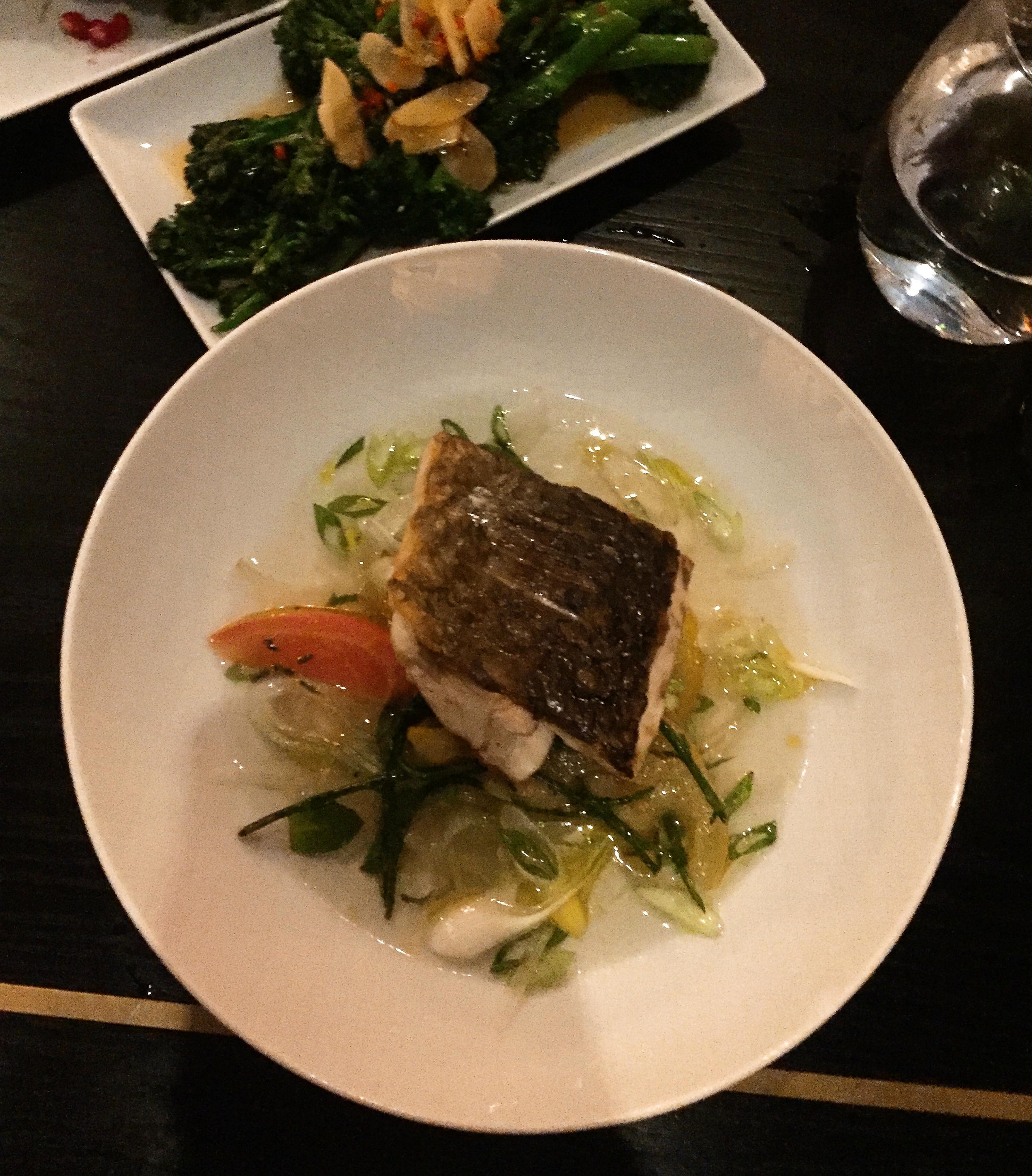 menu Trafalgar Dining Rooms restaurant review