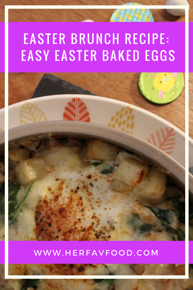 Easter brunch baked eggs recipe
