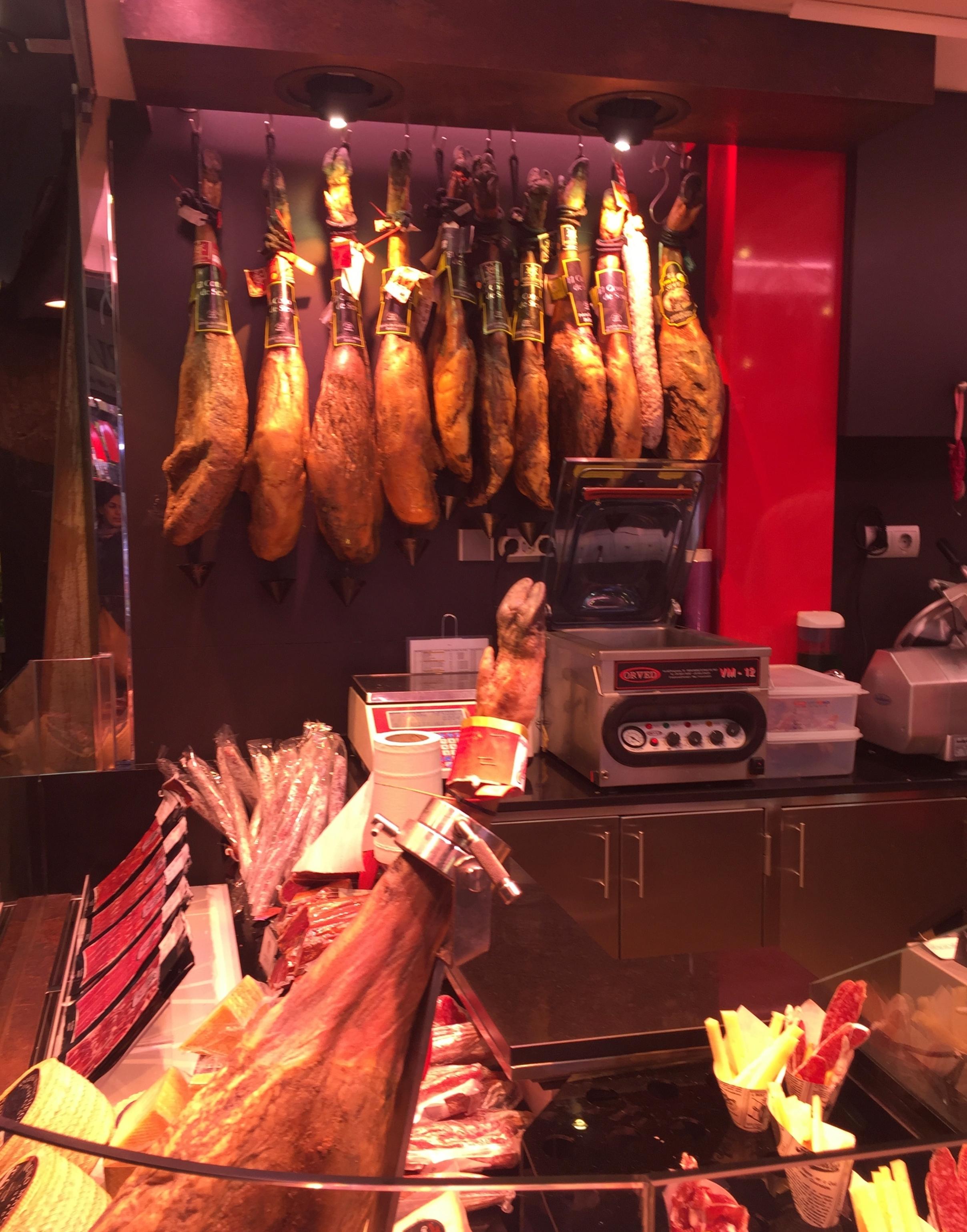 Food markets in Barcelona