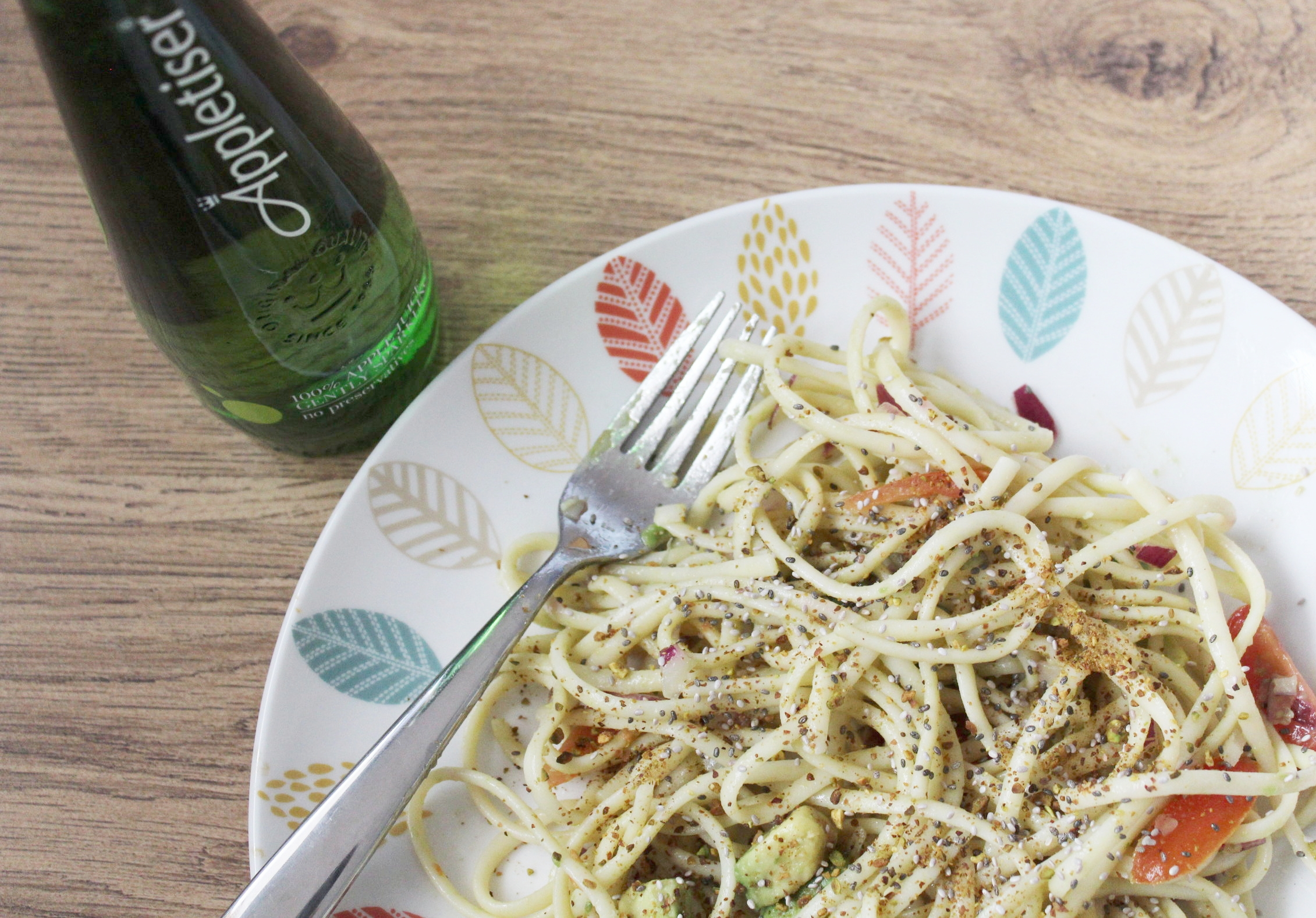 Healthy and easy linguine recipe