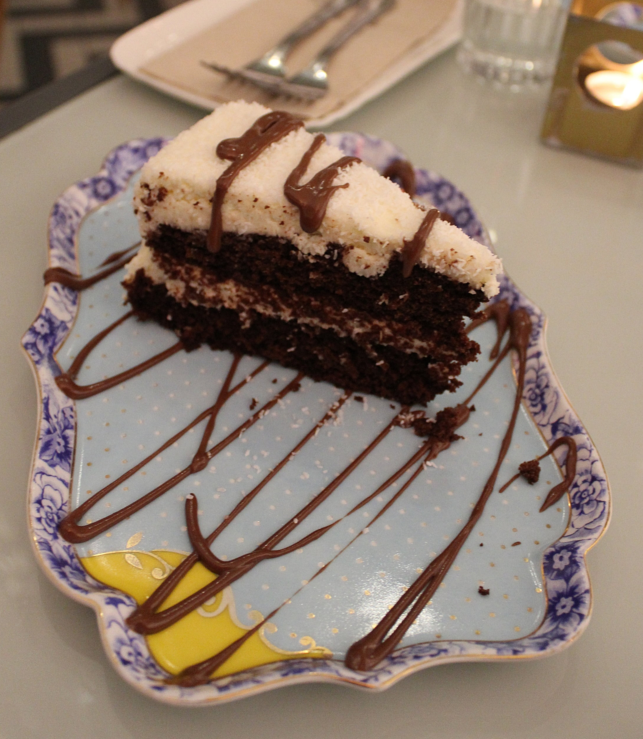 Desserts at Temakinho Soho restaurant review