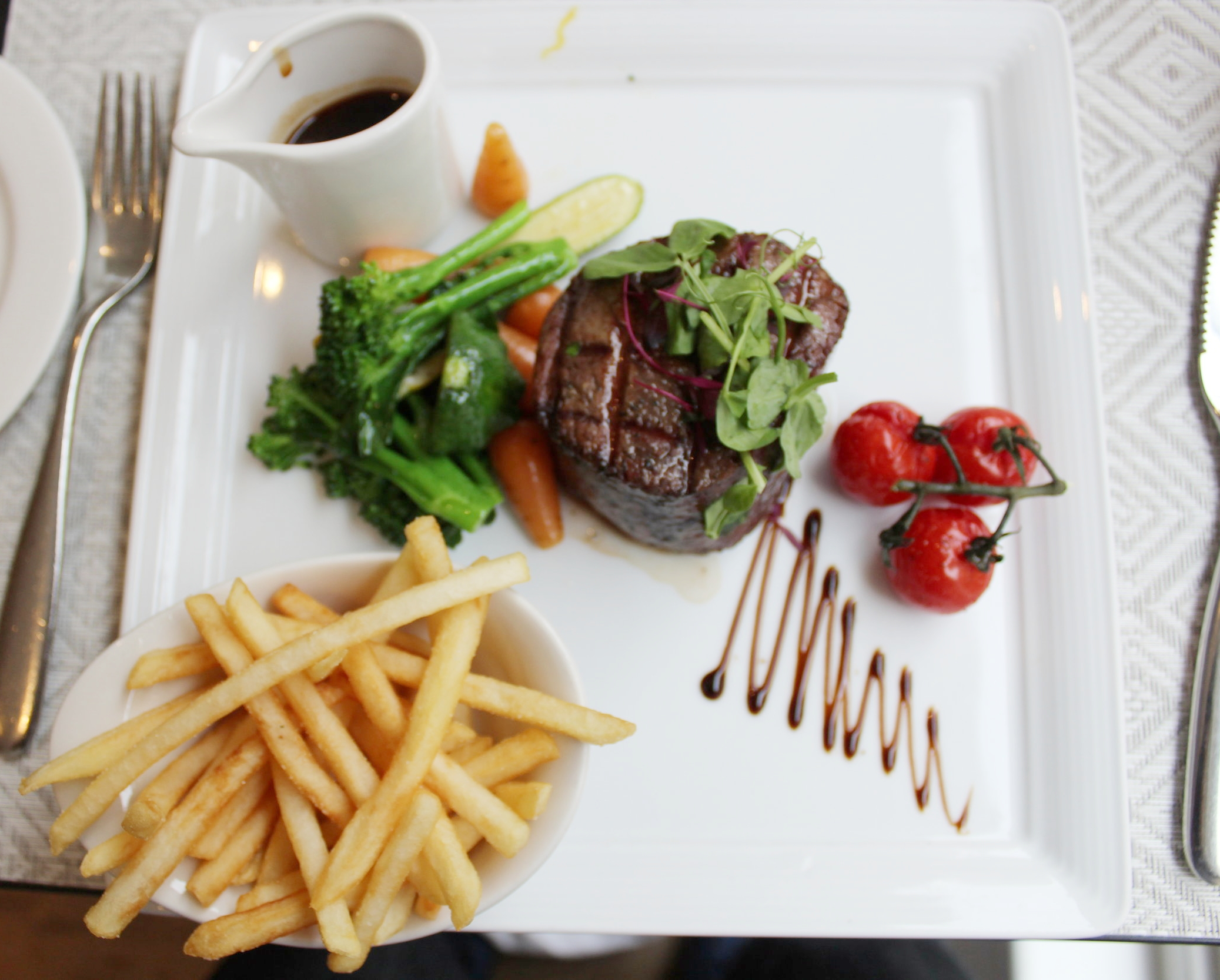Bistro St James Court Hotel review