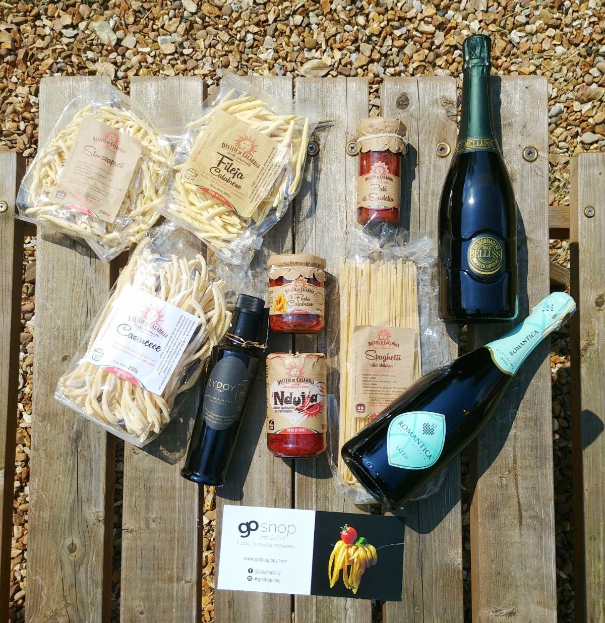 Go shop Italy hamper review