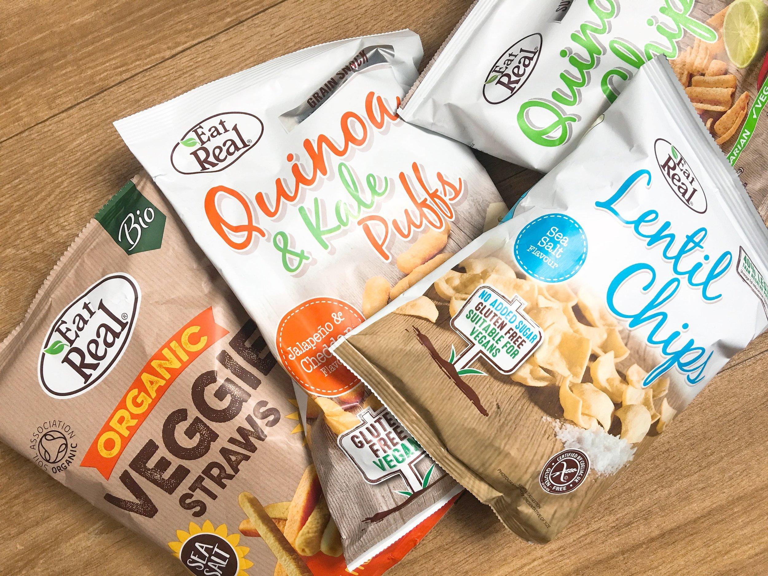 Eat Real snacks for Summer