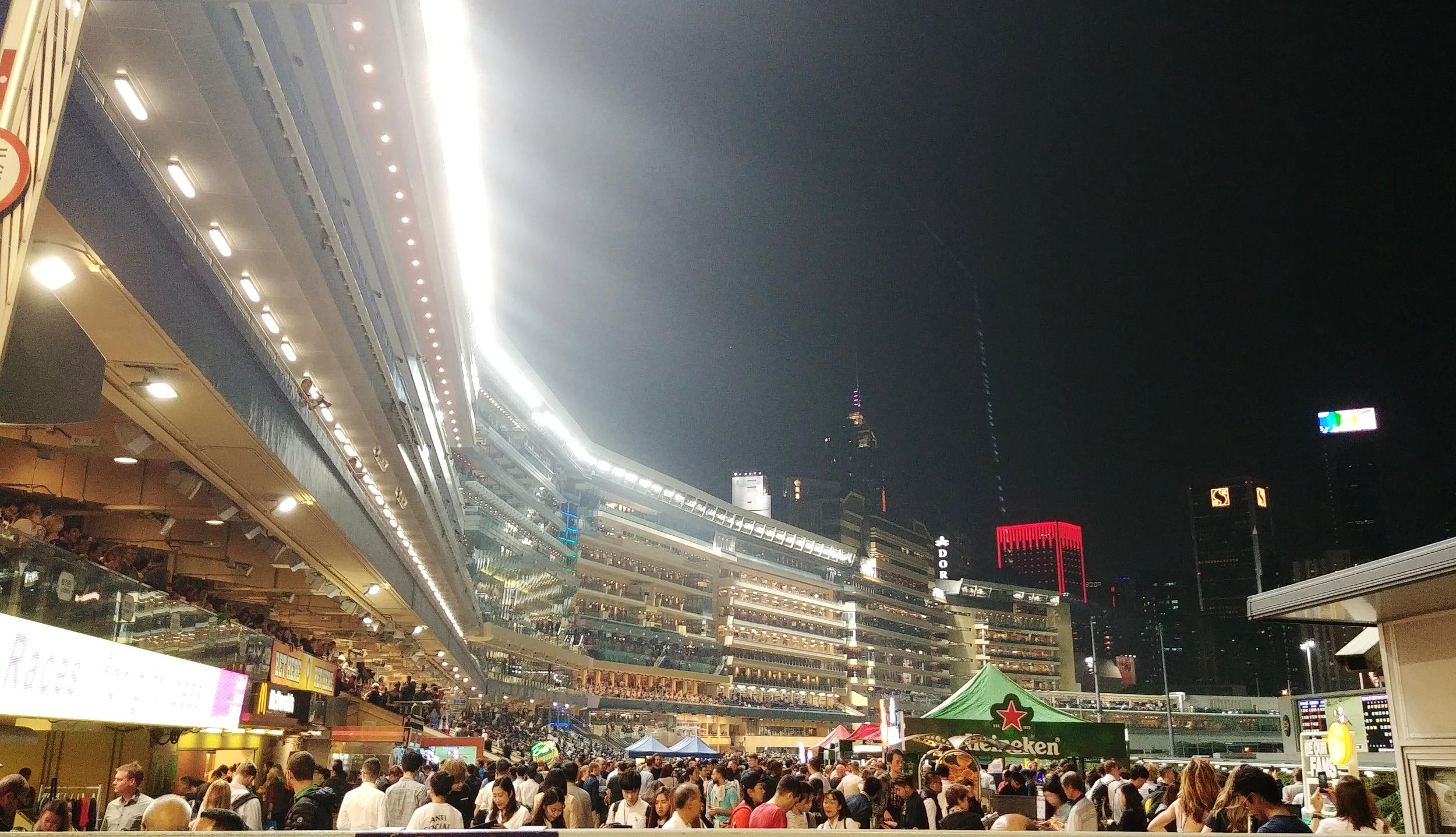 Hong Kong budget travel post - horse racing