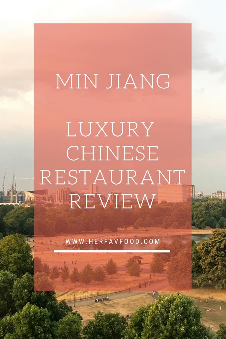 Min Jiang restaurant review