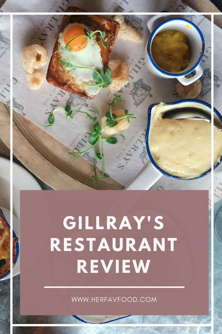 Gillray's restaurant review