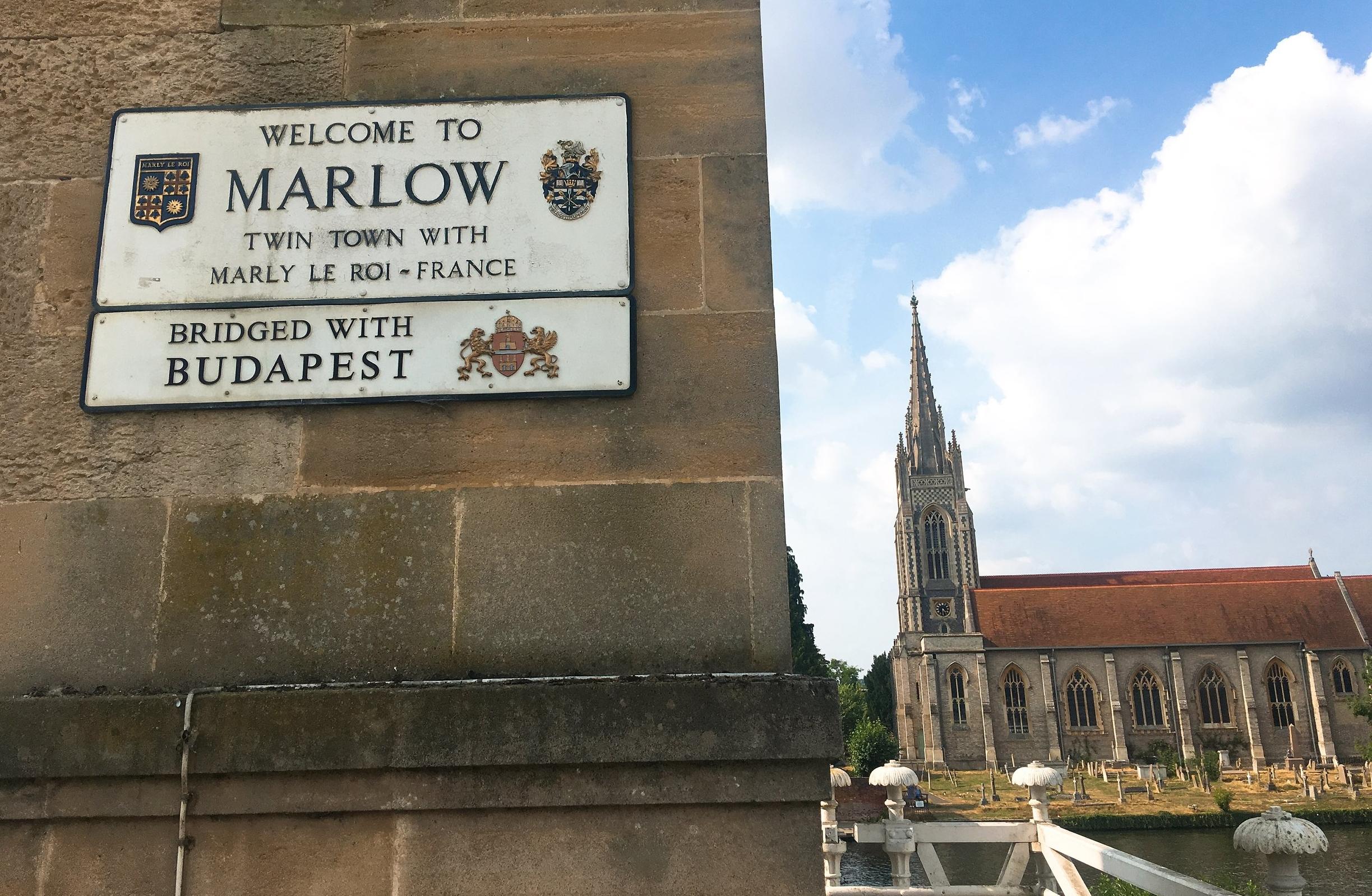 Marlow, England, Travel post