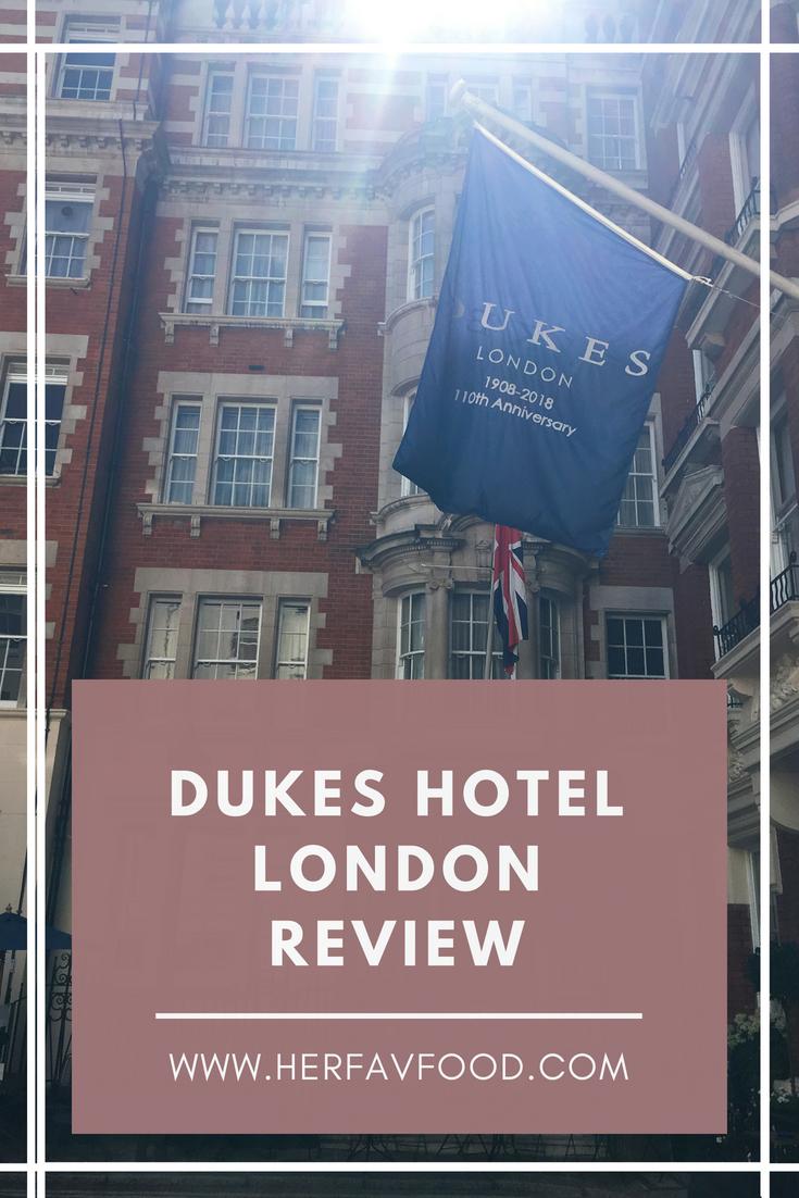 Dukes Hotel London Mayfair review - travel