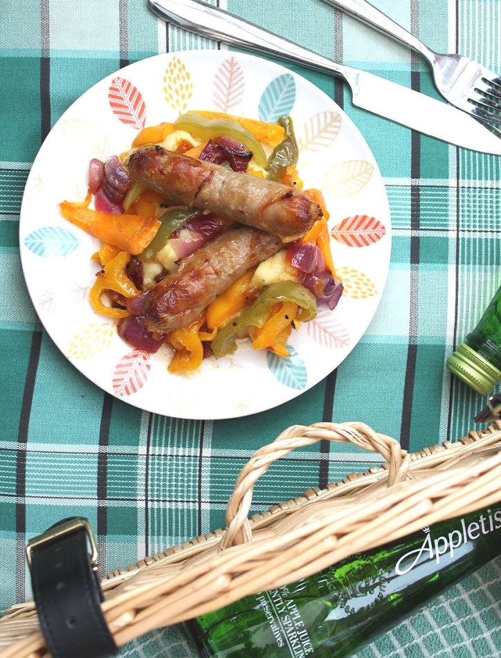 Caribbean spicy sausage recipe