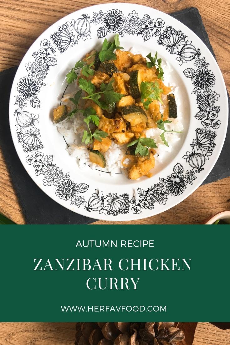 Zanzibar Chicken Curry recipe