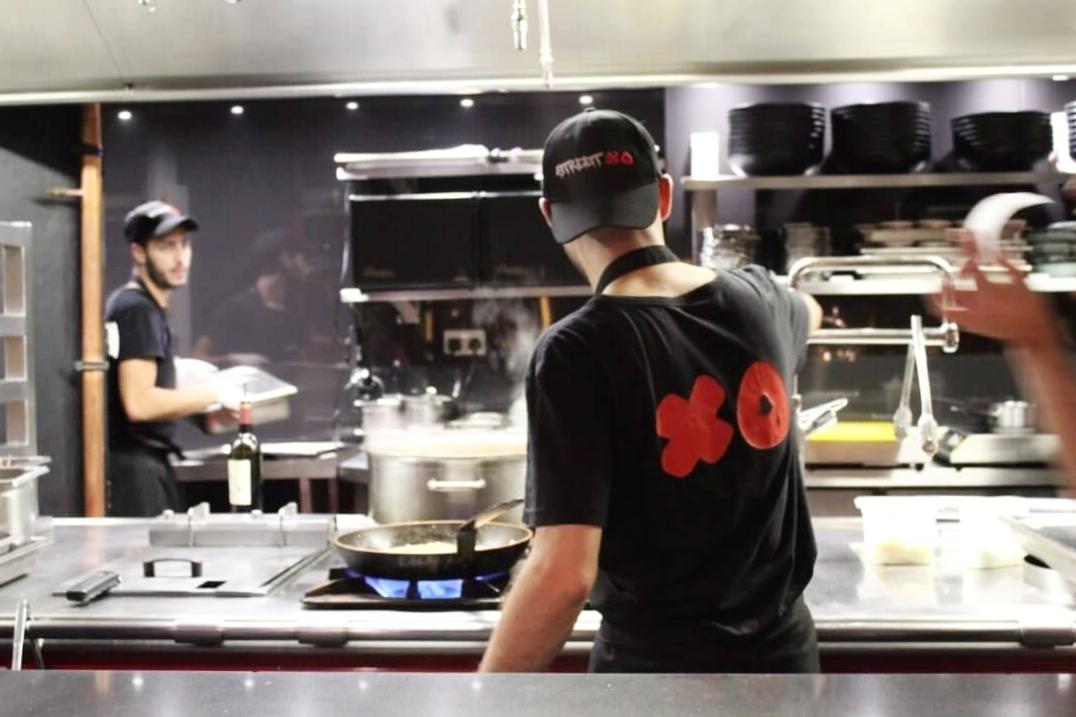 open kitchen StreetXO review London