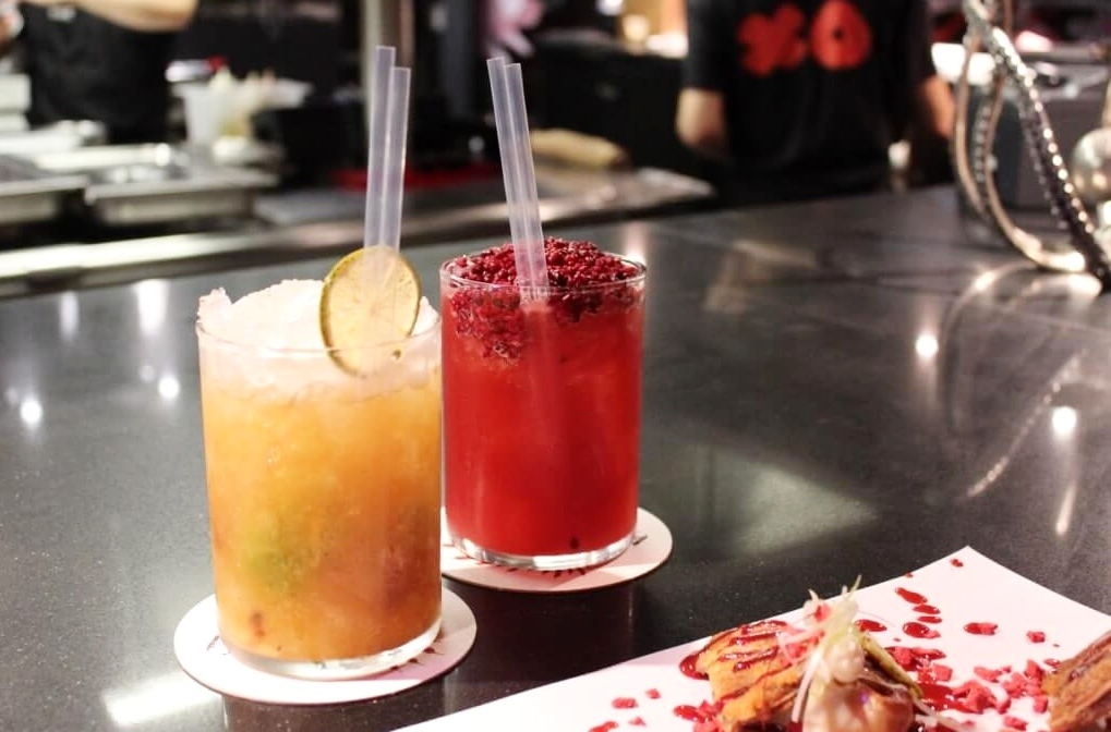 Cocktails StreetXO London dinner review