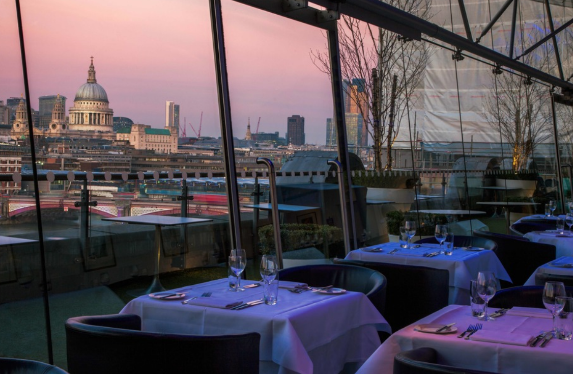 Oxo Tower Restaurant review