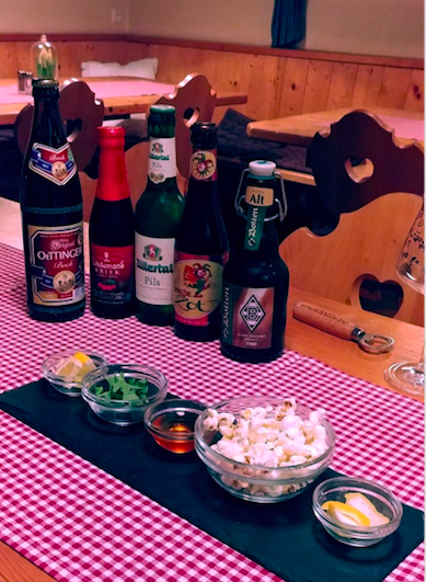 Beer tasting in Tirol