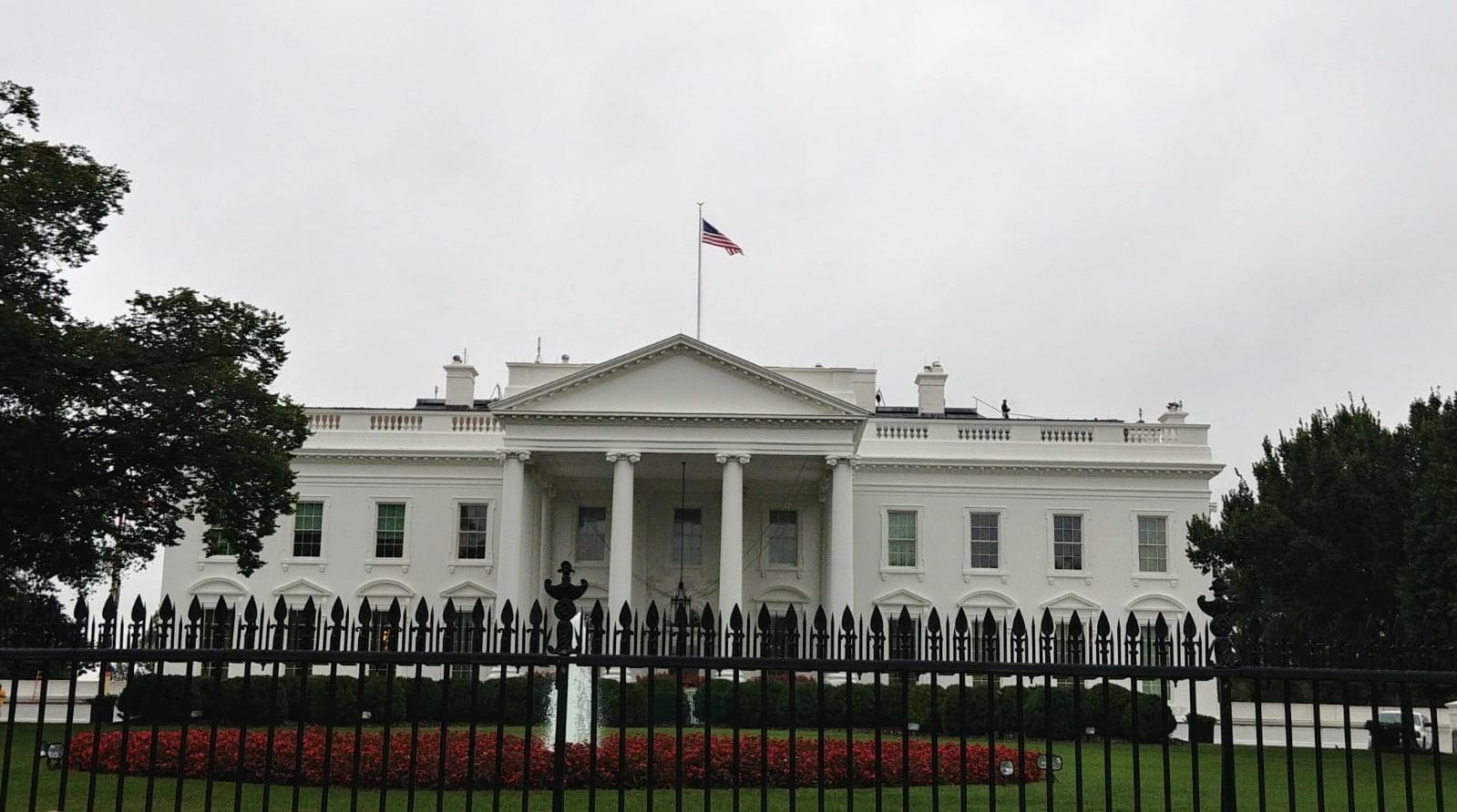 White House Washington DC America USA Trump President