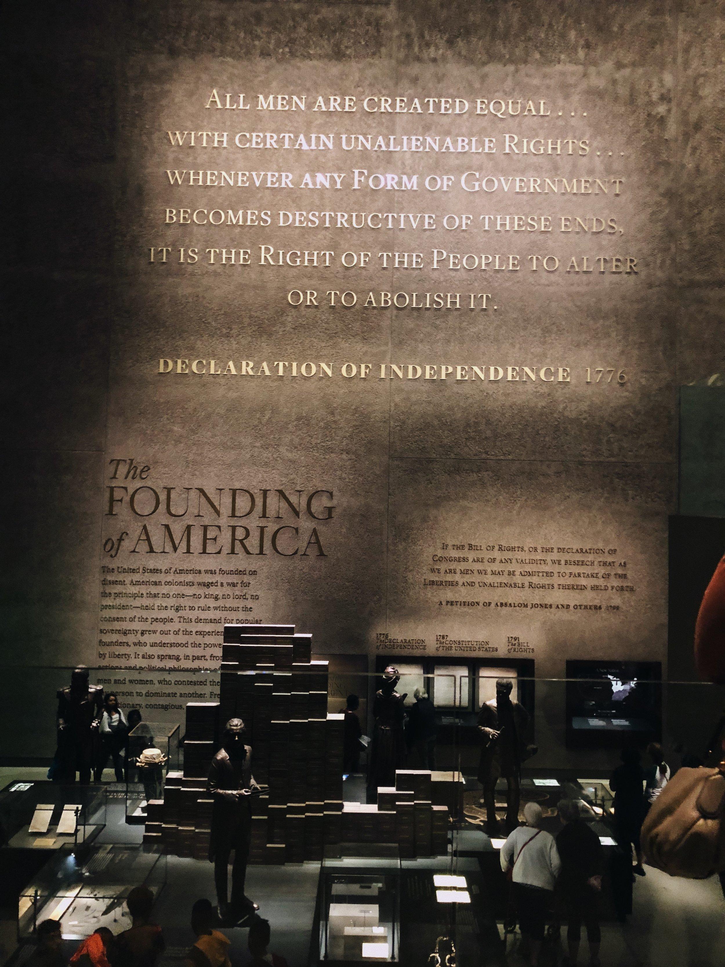 African American Museum Washington DC America