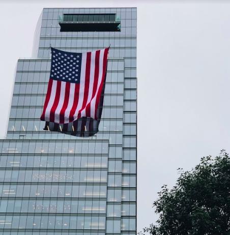 American Flag Washington DC