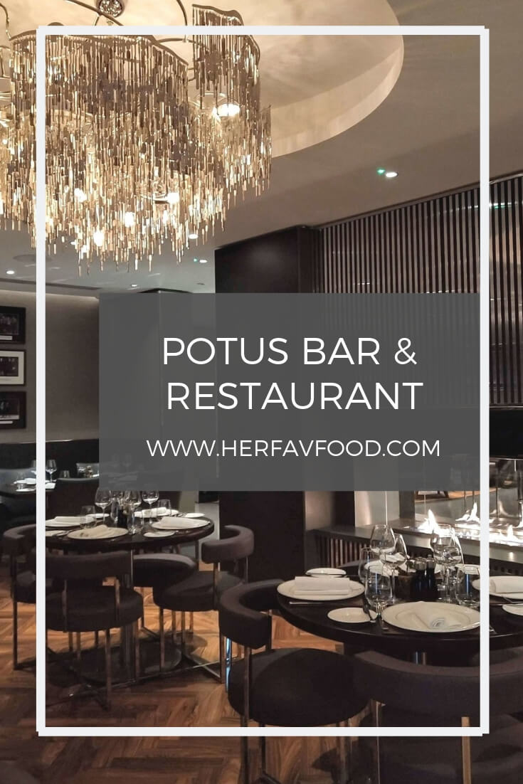 POTUS bar and restaurant review London