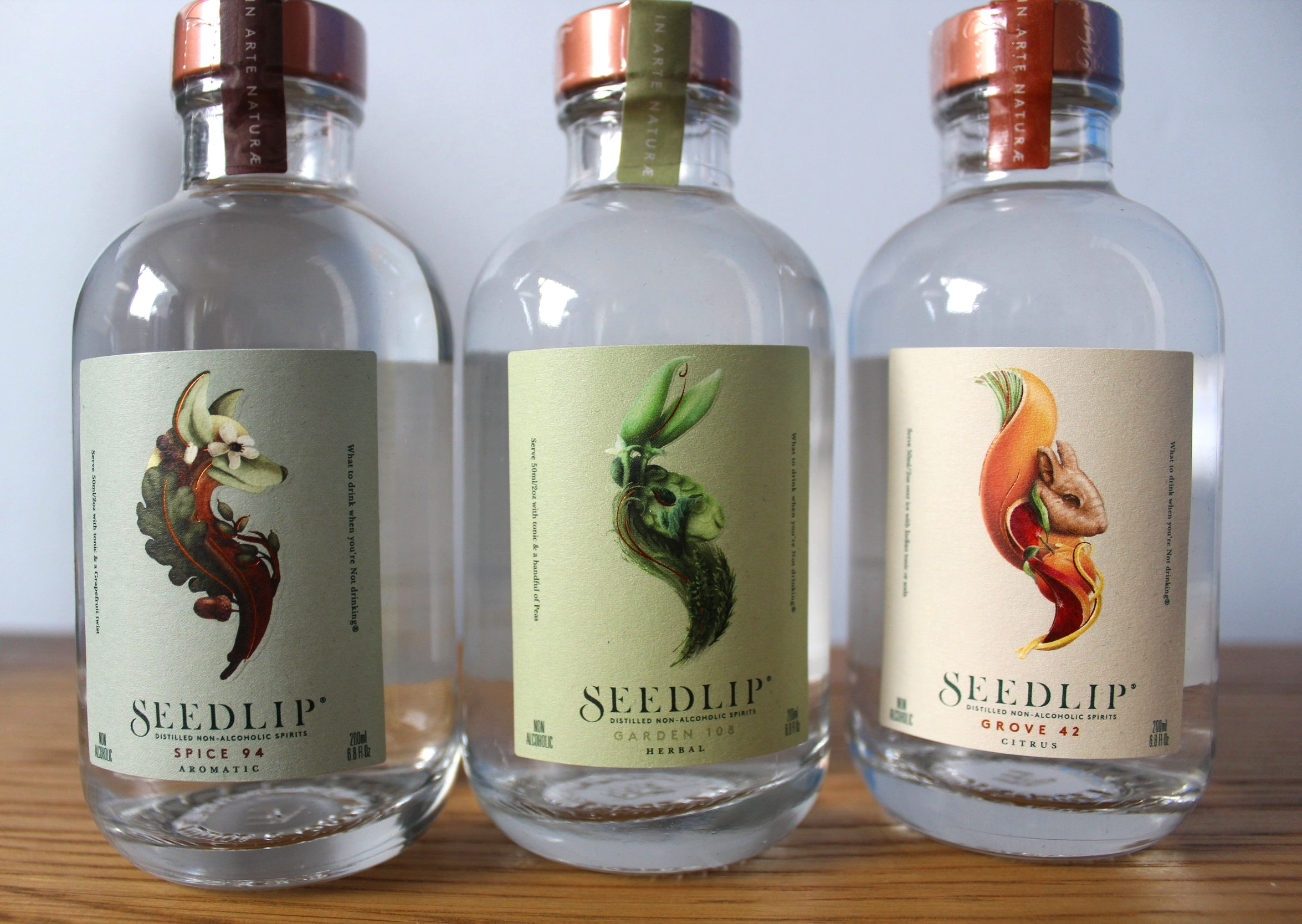 Seedlip Garden Spice Grove spirit drink