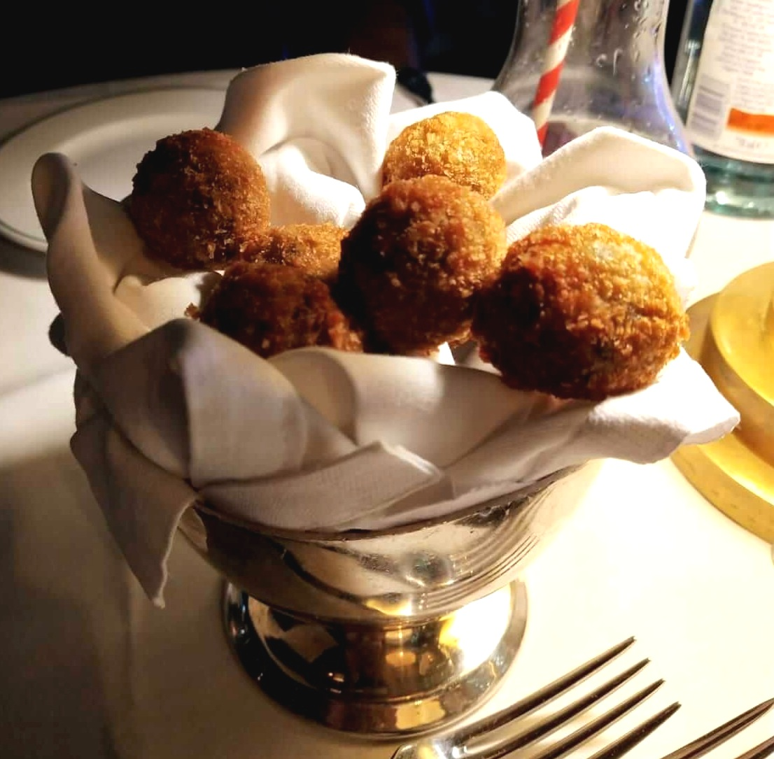 truffle arancini The Ivy in the Park Canary Wharf