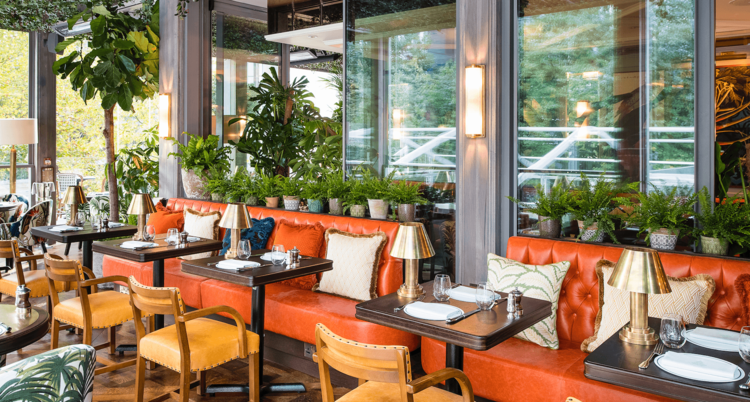 The ivy in the park canary wharf