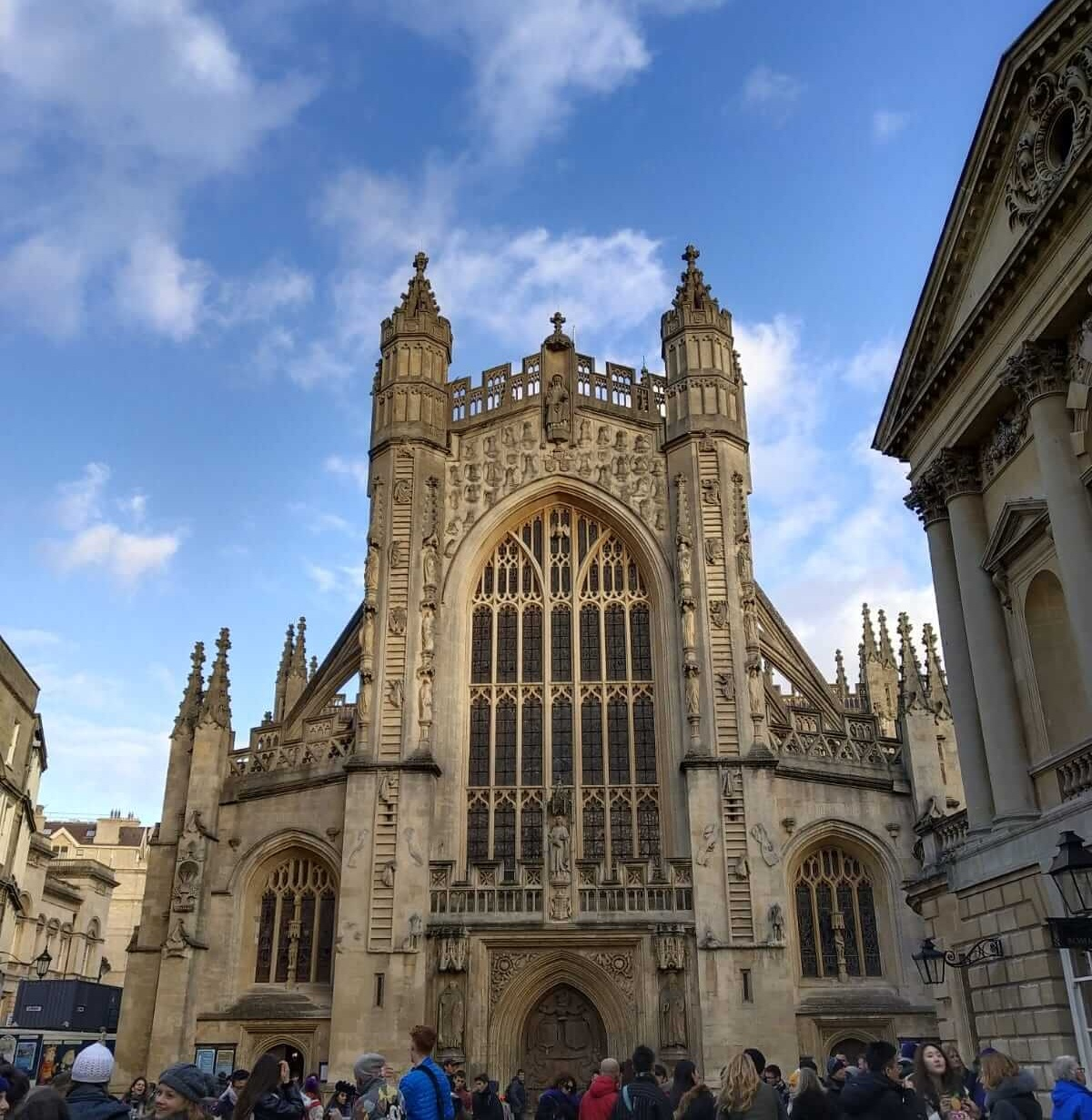 Bath Abbey in the sunshine