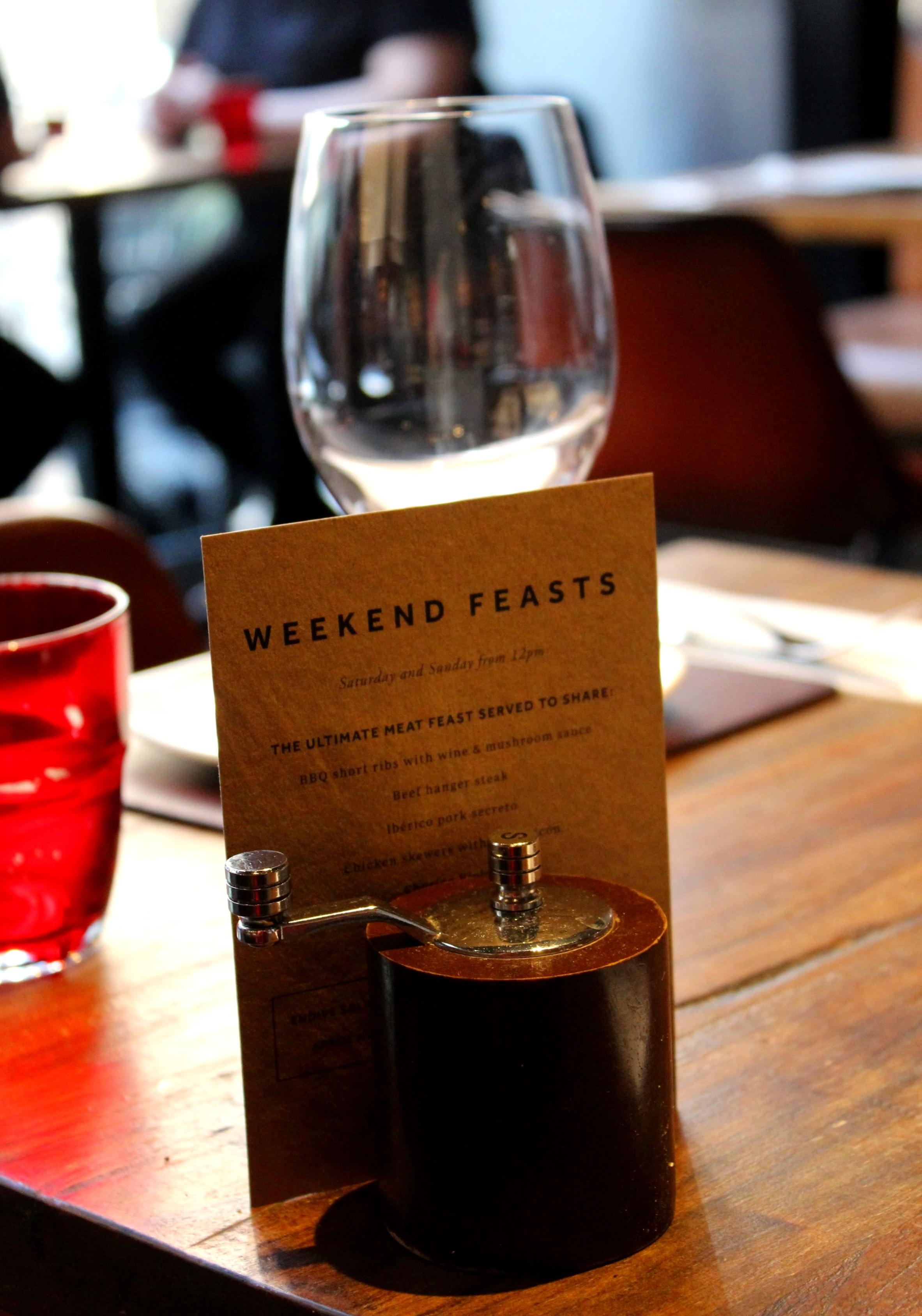 Camino Bankside Weekend Feast