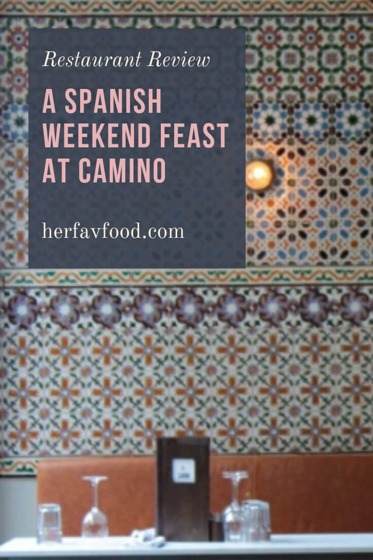Spanish weekend feast at Camino