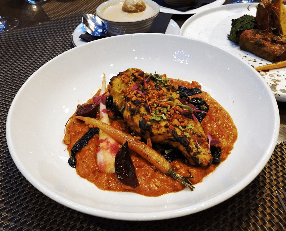 Baluchi dinner review Lalit London hotel
