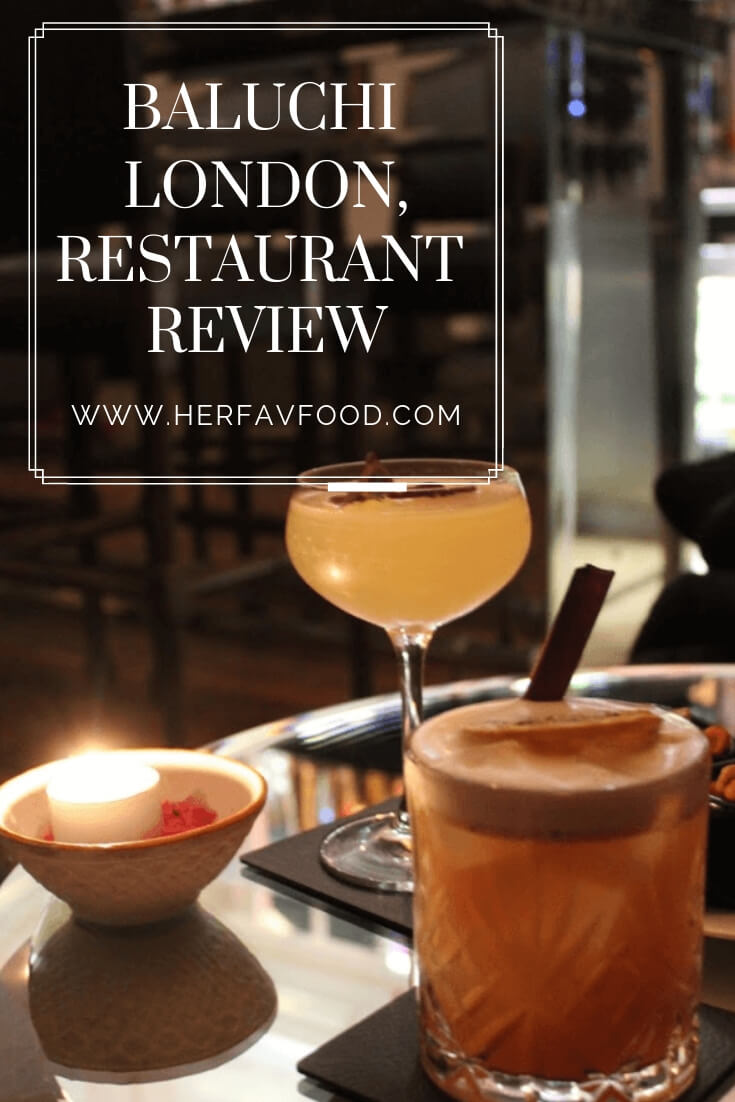 Baluchi London restaurant review