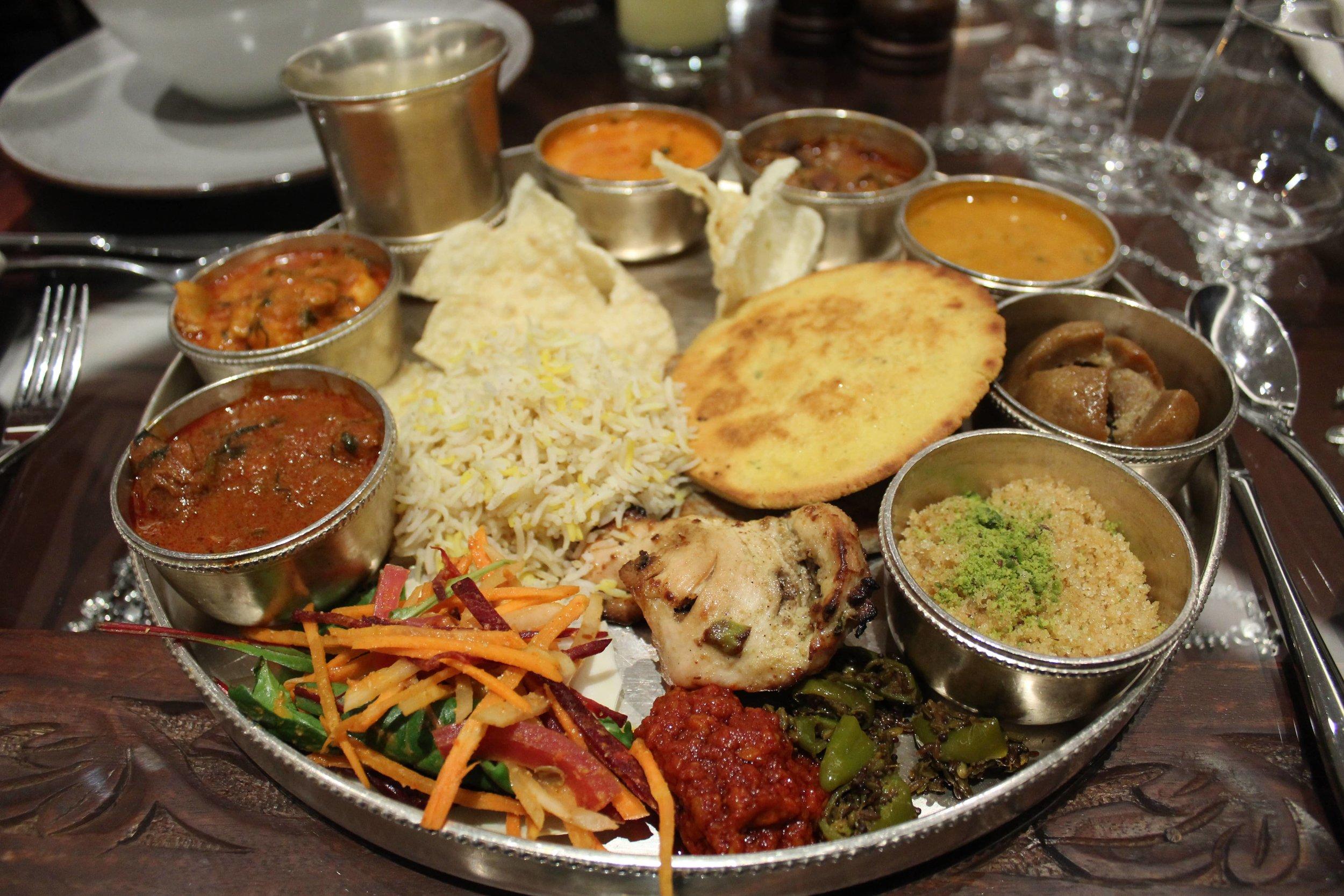 Chokhi Dhana London Thali
