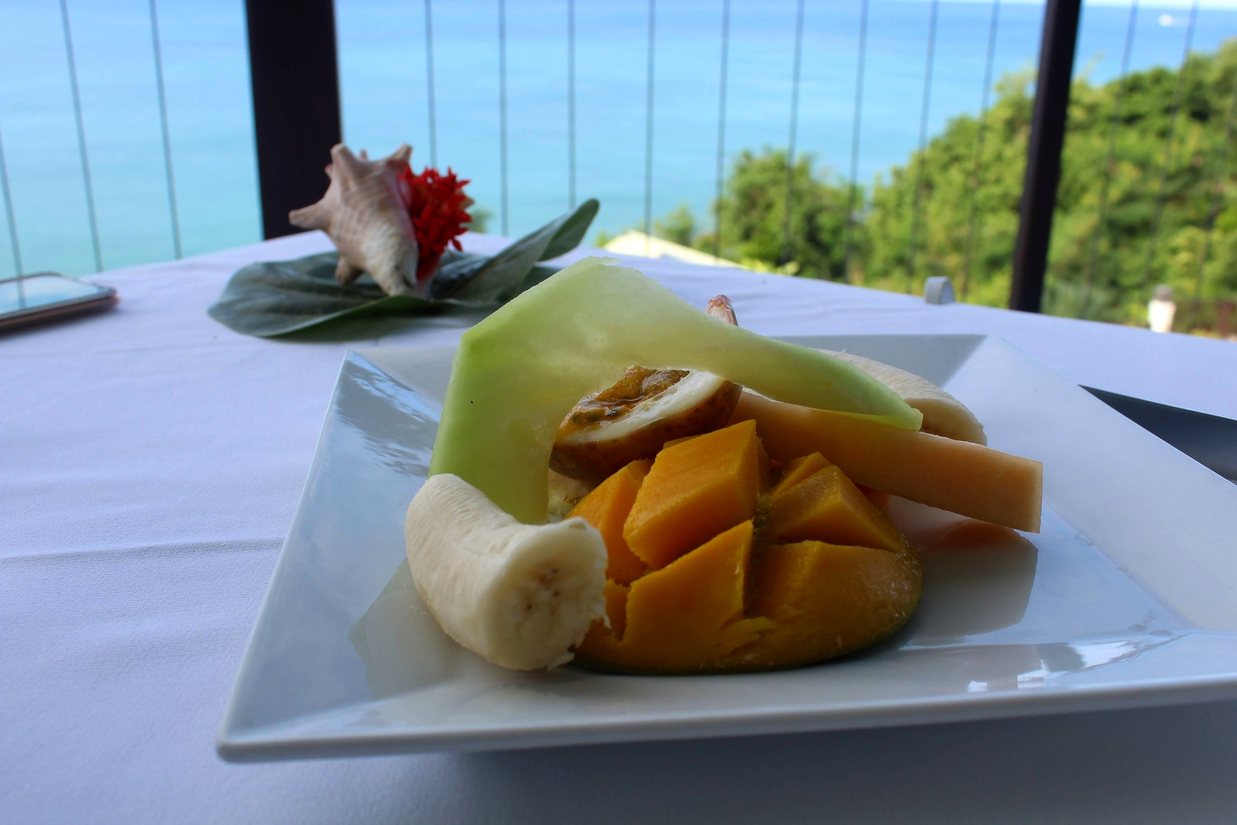 Calabash Cove St Lucia breakfast