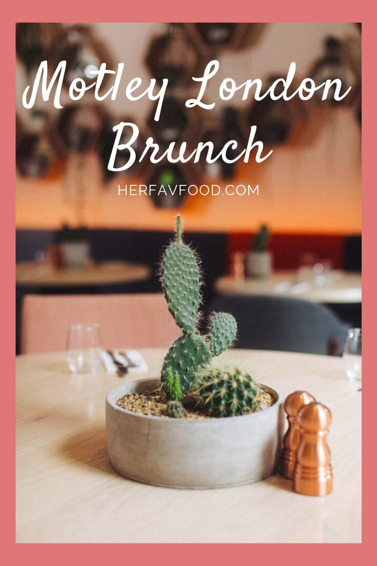 Motley London Brunch