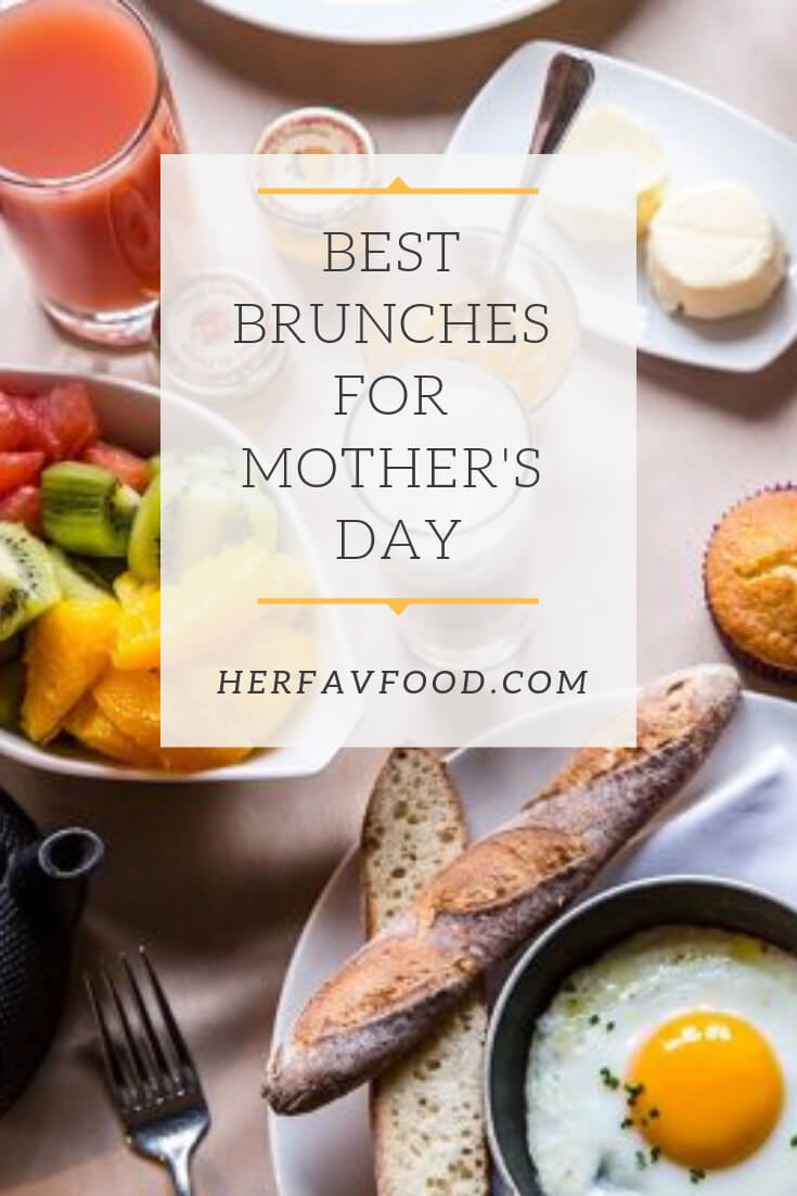 Mother's Day brunch ideas London