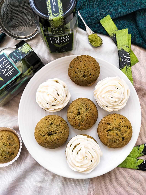 Quick matcha cupcake recipe