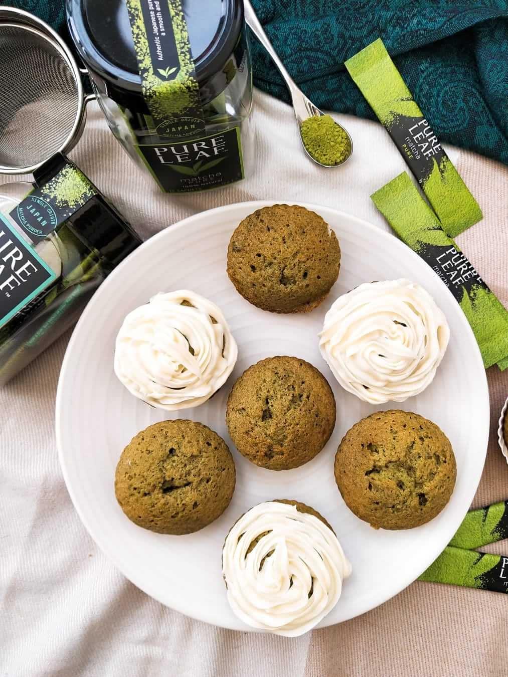 Easy matcha cupcake recipe