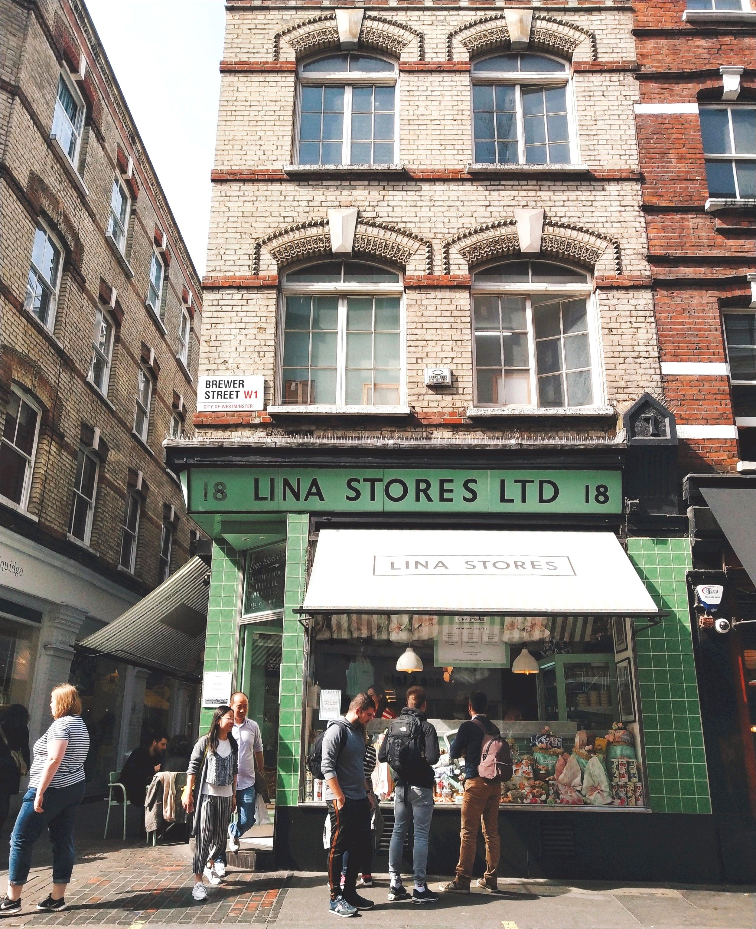 Lina stores soho