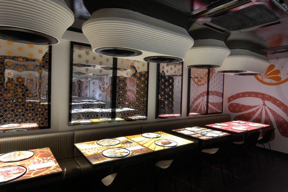 Inamo dining Soho
