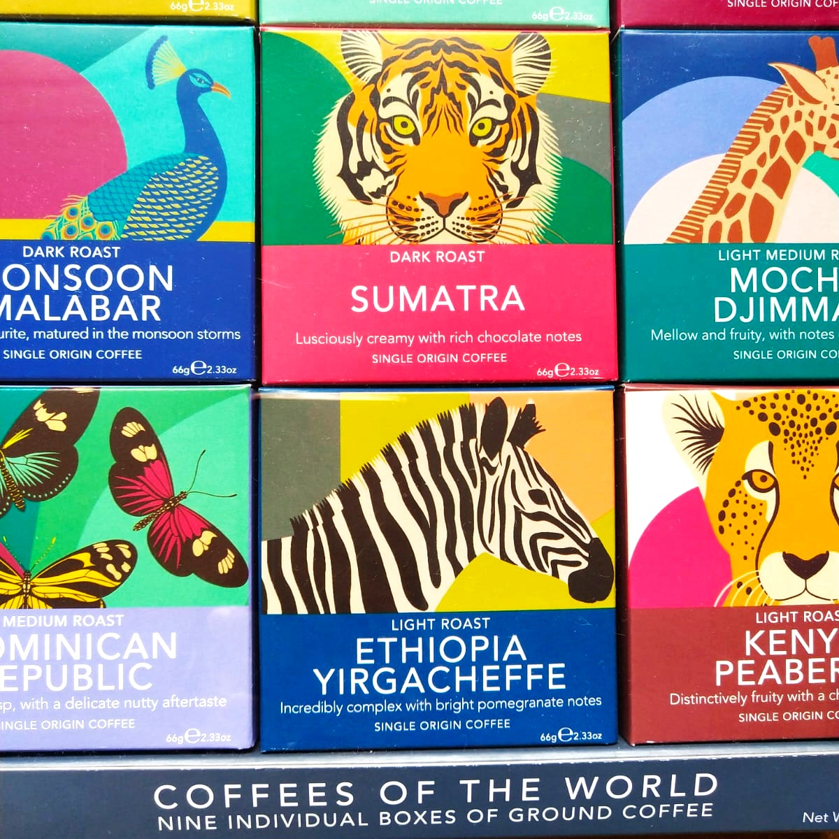 Coffee of the world gift set