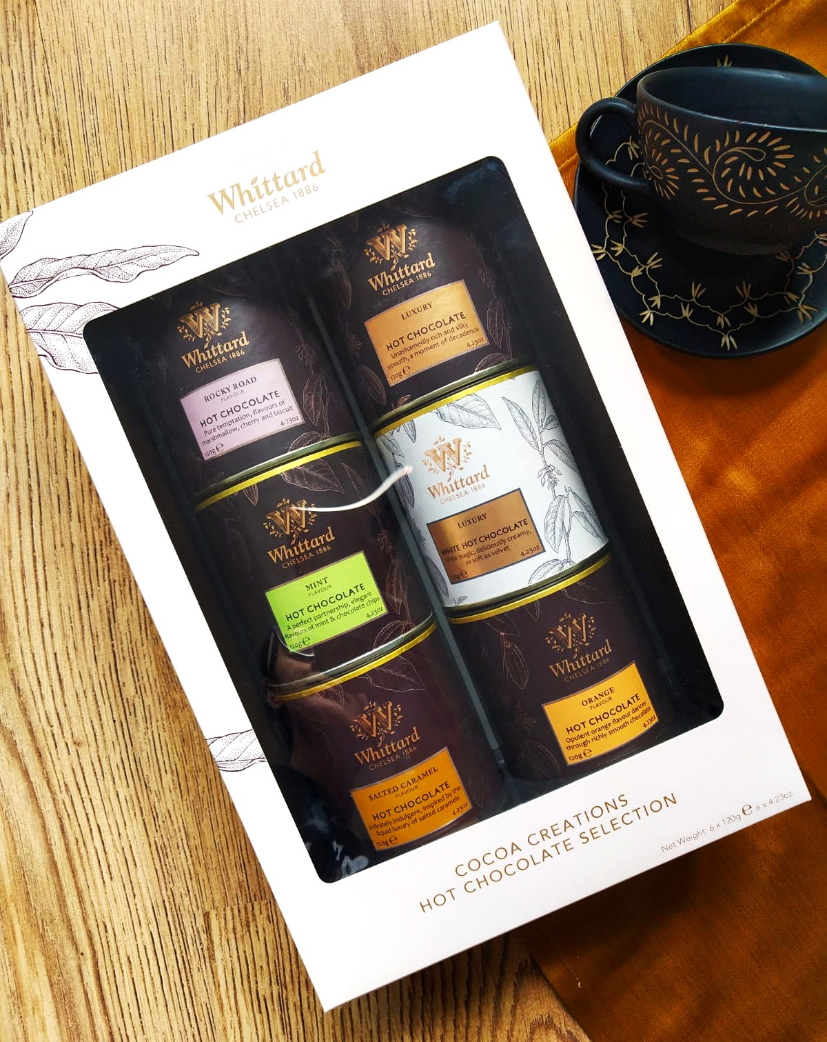 Whittard of Chelsea 1886 Hot Chocolate Gift Set