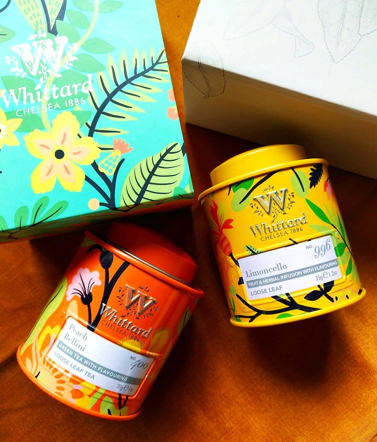 Whittard of Chelsea 1886 tea mini caddy gift set
