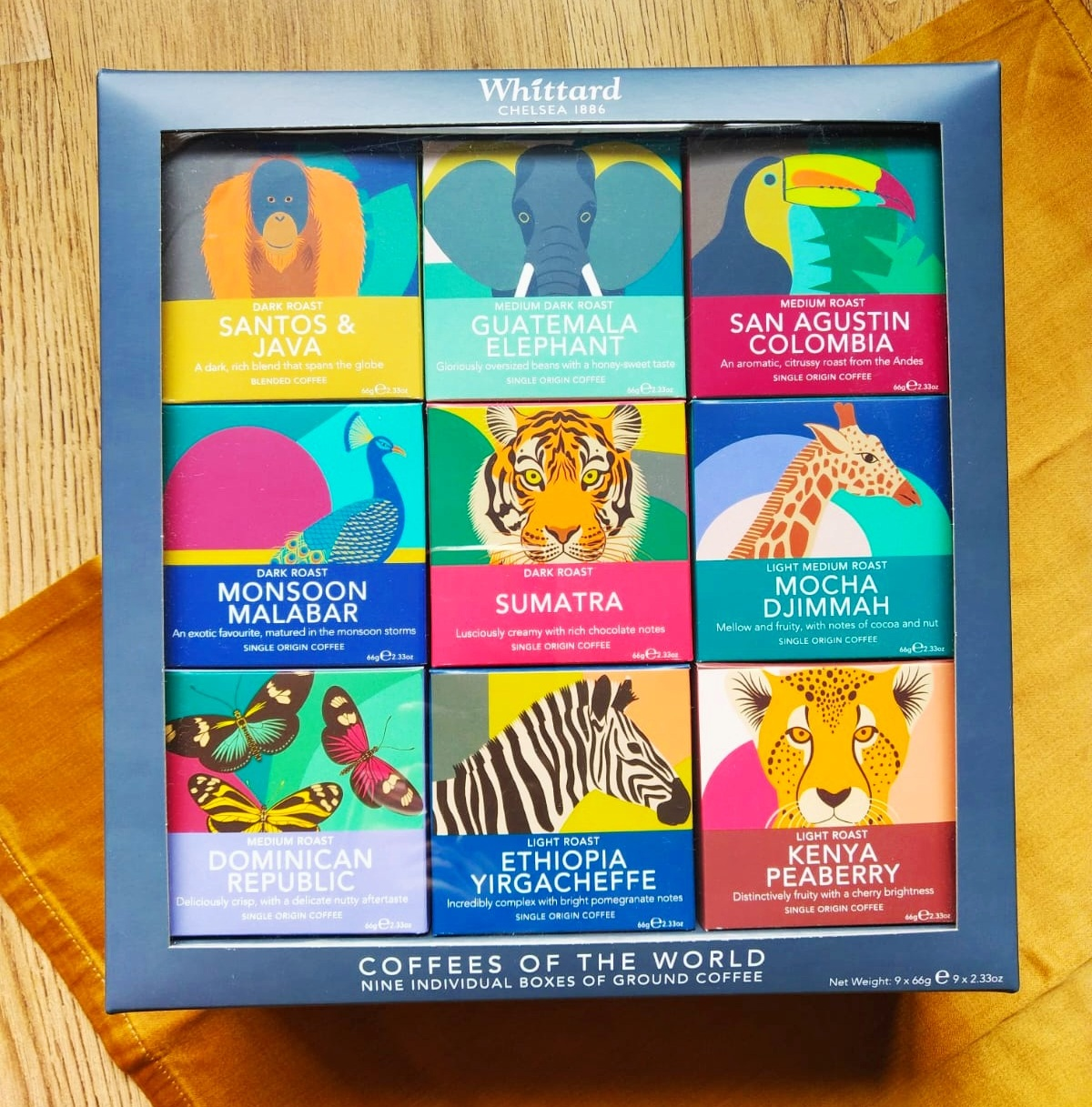 Whittard Coffees of the World Gift Set