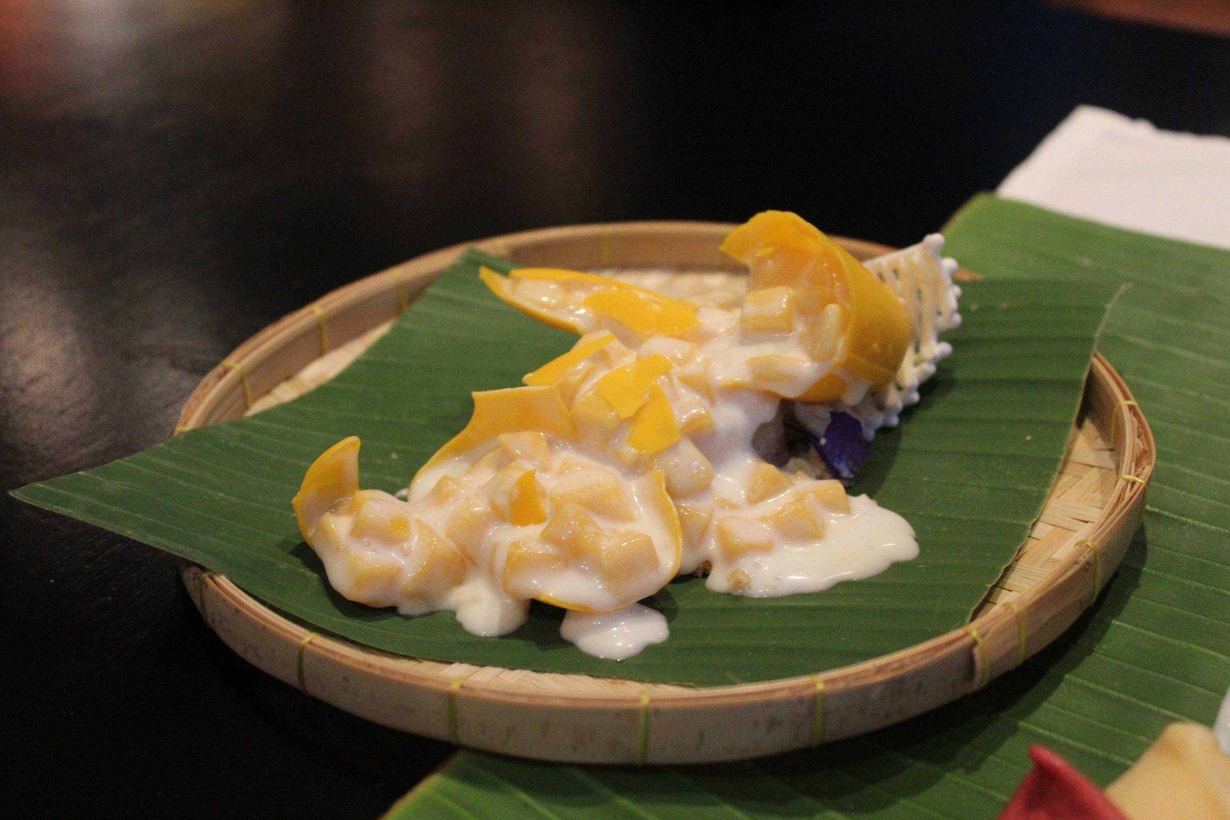 Luxury Mango sticky rice bangkok
