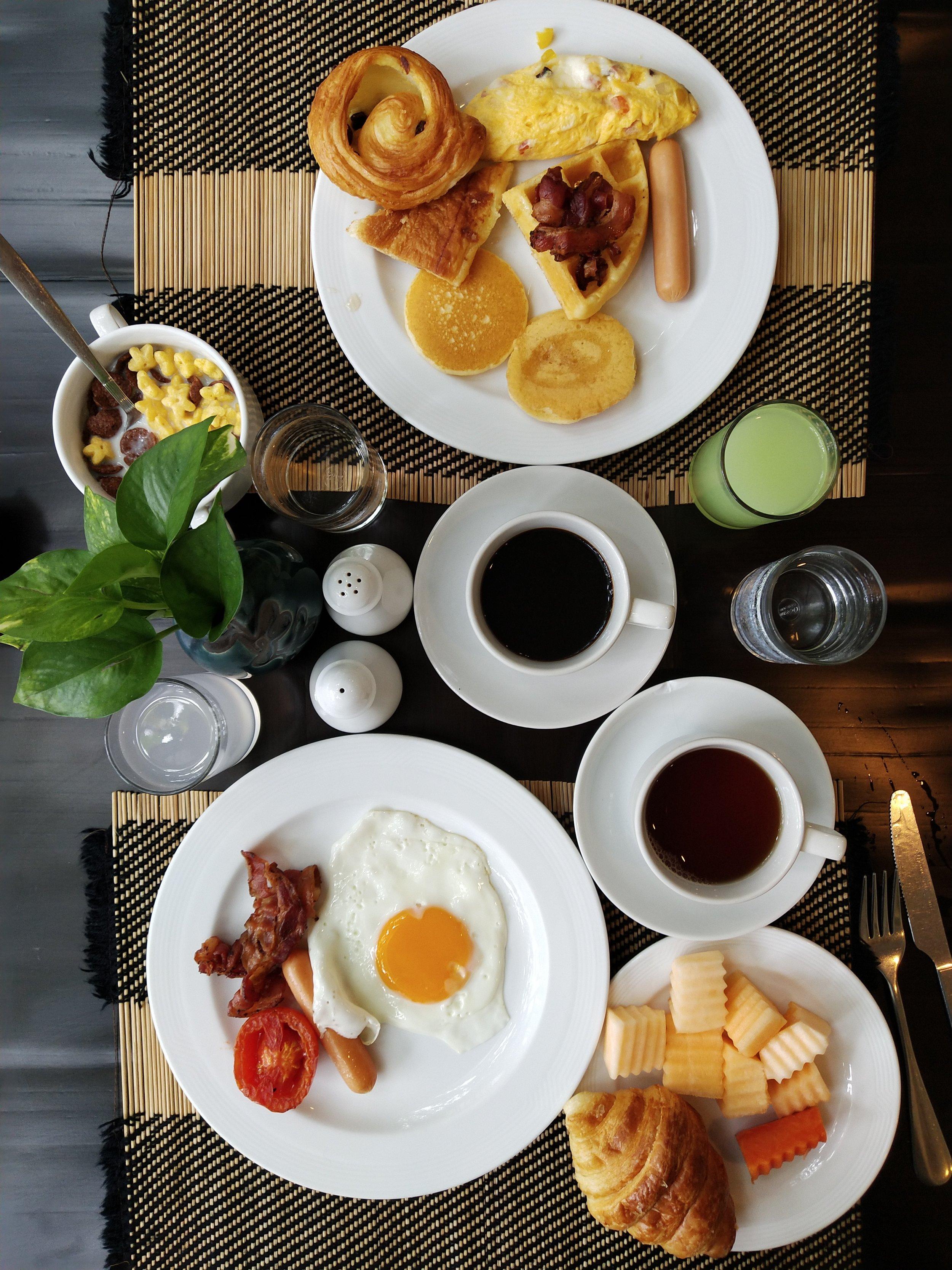 Bodhi Serene Thailand Breakfast